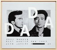 andy warhol, most wanted man #ii, dada, 2002 by richard pettibone
