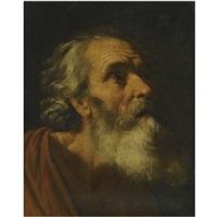 head of a male saint (study of saint peter?) by hendrick van somer
