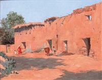 cour de ferme, el ourska (atlas) by carlos abascal