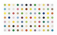 cupric acetate by damien hirst