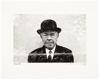 magritte by duane michals