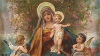 madonna und das jesuskind by hans zatzka