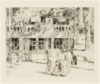 toby's, cos cob by childe hassam