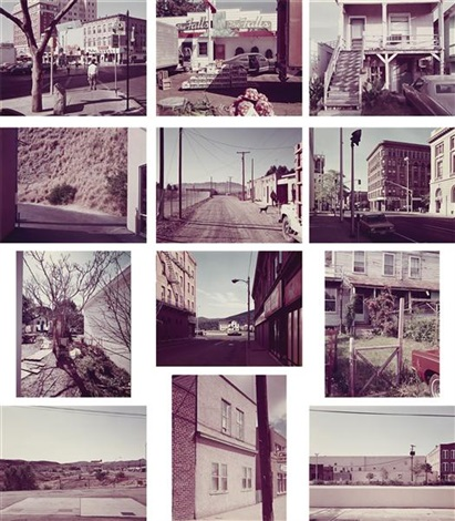 twelve photographs (12 works) by stephen shore