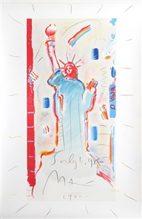 statue of liberty by peter max