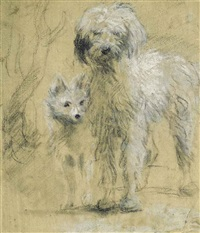 tristram and fox by thomas gainsborough