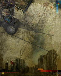 man and machine i (diptych) by kelani abass