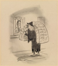 untitled cartoon by charles addams