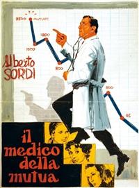 il medico della mutua (preliminare per manifesto) by enrico de seta