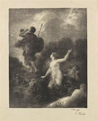 5 bll. figürliche darstellungen by henri fantin-latour