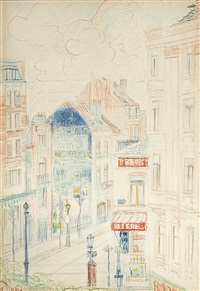 vue de ville by james ensor