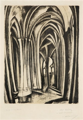 saint séverin by robert delaunay