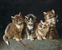 chatons by julius adam the younger
