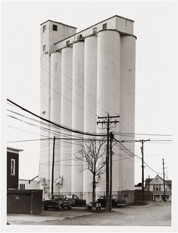 grain elevator sycamore ohio by bernd and hilla becher