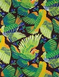 parrots by raoul dufy