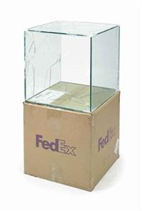 fedex ® large kraft box © fedex 330508 rev 10/05 sscc (in 2 parts) by walead beshty