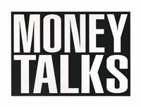 untitled (money talks) by barbara kruger