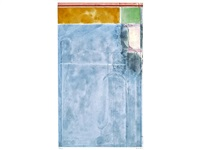 large light blue (from eight color etchings) by richard diebenkorn