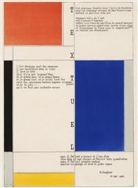 tableau-poeme by piet mondrian