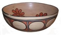 pueblo dough bowl by vidal aguilar