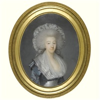 portrait of the comtesse d'artois by joseph boze