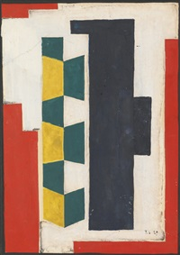 composition murale by fernand léger