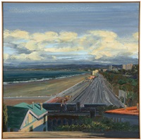 santa monica coast highway by larry cohen