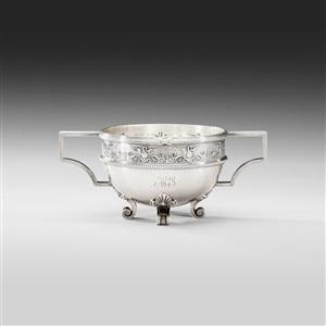 a fabergé silver bowl
