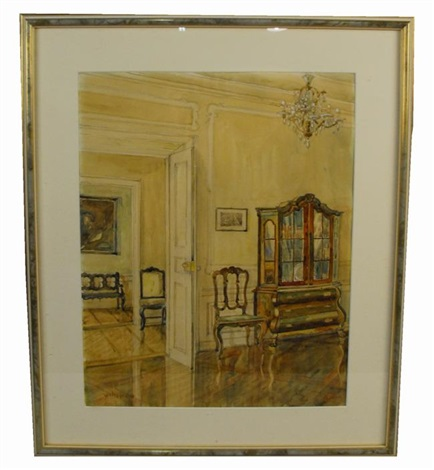 interior view by walter gay