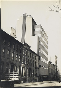 the new school, new york city by walker evans