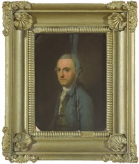portrait of j. king esq by robert home