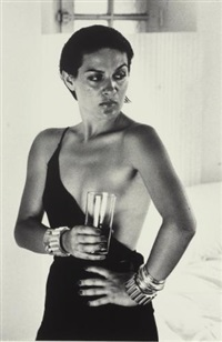 untitled (+ 3 others; 4 works from 15 photographs) by helmut newton