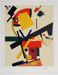 untitled - suprematist composition 2 by kazimir malevich