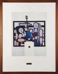 triptychos post-historicus, part one : «la lecture» fernand léger, 1924; part two : robin katz's guitar; part three : apples by braco dimitrijevic