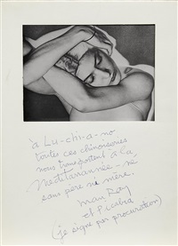 untitled (natasha) by man ray