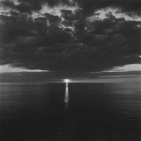 eveningnorthumberland strait iii by lynn davis