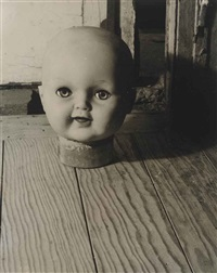 doll's head (cabeza de muñeca) by kati horna