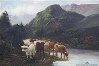 pass at dunkeld by w. richards