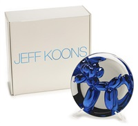 balloon dog - blue by jeff koons