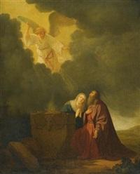 the sacrifice of manoah by willem de poorter
