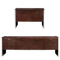 credenza and side cabinet,, for dunbar by roger sprunger