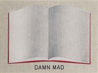 damn mad open book by ed ruscha