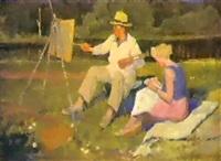 le peintre et son etude by dimitri nekrasov