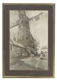 the windmill, sneinton (+ cheapside, nottingham; 2 works) by thomas william hammond