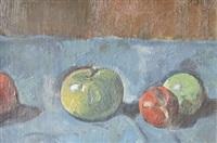 nature morte aux pommes by paul basilius barth