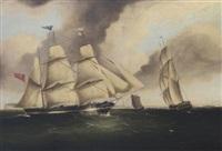 the three-masted barque