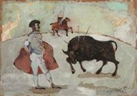 composizione; marina (2 works) by antonio possenti