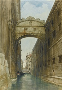 the bridge of sighs, venice by james holland
