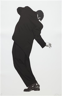 raphael (from men in the cities) by robert longo