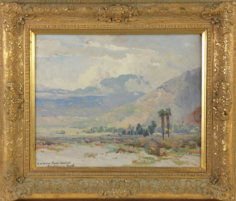 desert near palm springs calif by jack wilkinson smith